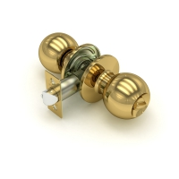 Замки защелки для межкомнатных дверей (KNOB)