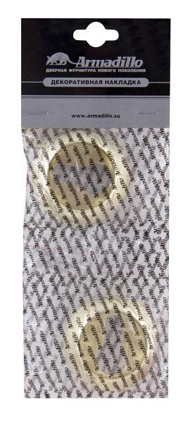Накладка CYLINDER ET-1SG/GP-4 матовое золото/золото 2шт.