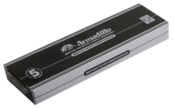 Петля универсальная 500-C5 125х75х3 PN Перламутровый никель Box