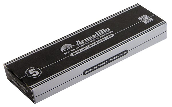 Петля универсальная 500-B4 100x75x3 AВ Бронза Box