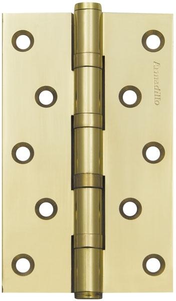 Петля универсальная 500-C5 125х75х3 GP Золото Box