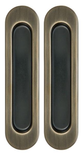Ручка для раздвижных дверей SH010-AB-7 бронза