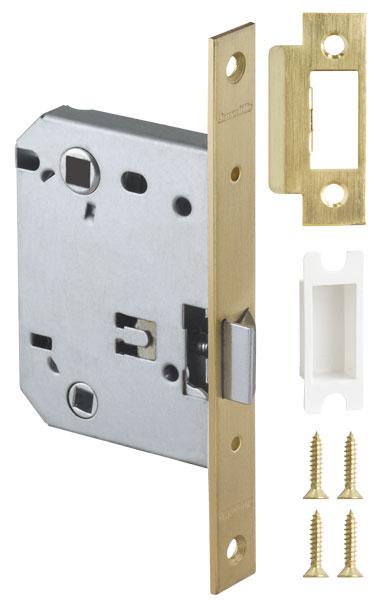 Защелка врезная LH 720-50 SG Мат. золото BOX на 70мм /прям/
