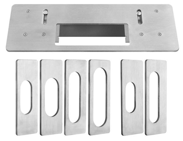 Шаблон для врезки скрытых петель /Armadillo Architect/Fuaro/AGB2.0