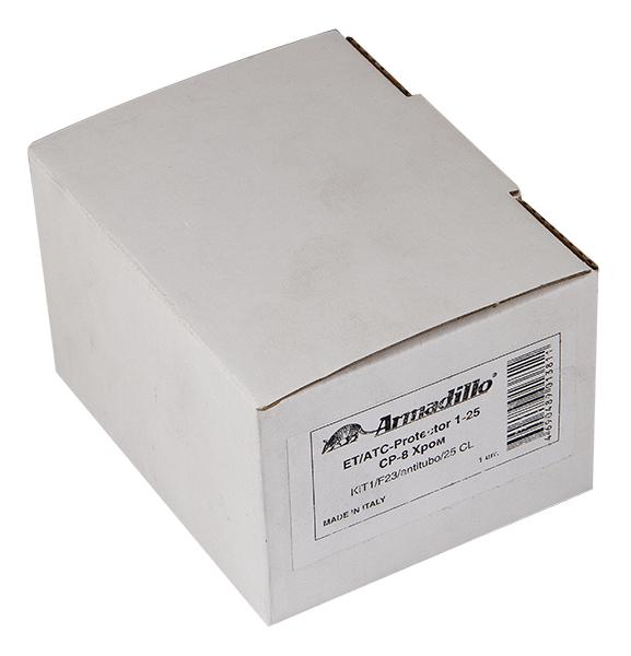 Броненакладка на ЦМ/сквозн. крепл. от вырывания, 25 мм ET/ATC-Protector 2-25CP-8 Хром box