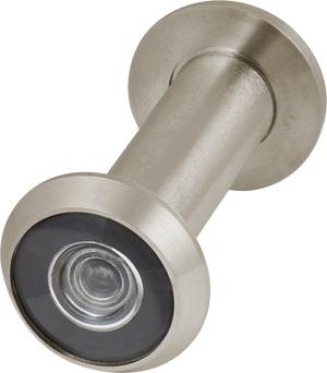 Глазок дверной, стеклянная оптика DVG3, 16/60х100 SN Мат. никель