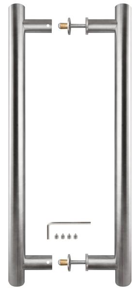 Ручка-скоба PH-24-25/350-INOX нержавейка