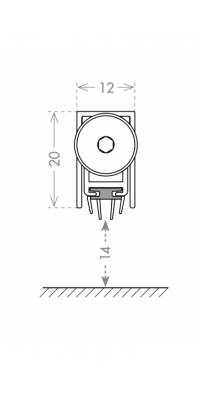 Автоматический порог EASY TREND ASTD A/930