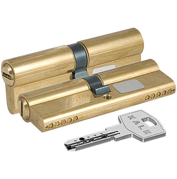 Цилиндровый механизм 164 BN/100 (45+10+45) mm латунь 5 кл.
