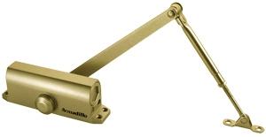 Доводчик дверной морозостойкий LY4 85 кг золото
