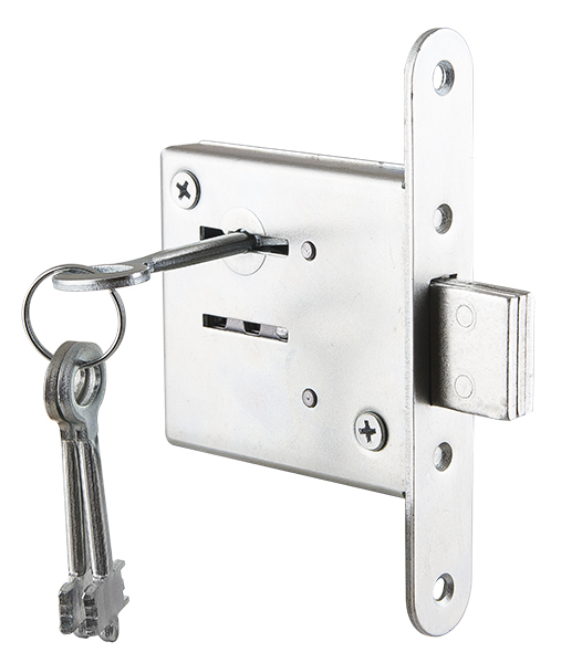 Замок врезной ЗВ8-4.1 3 ключа