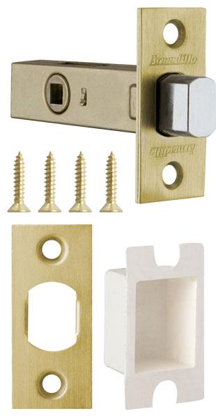 Задвижка врезная DB 920-45-25 SG Матовое золото SKIN