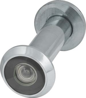 Глазок дверной, стеклянная оптика DVG2, 16/55х85 CP Хром