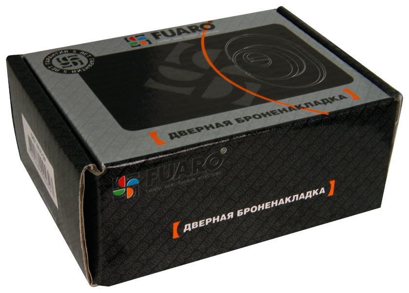 Броненакладка DEF 4935 GP ЛАТУНЬ