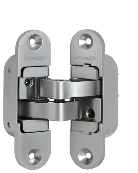 Петля скрытой установки с 3D-регулировкой Architect 3D-ACH 40 SC Матовый хром прав. 40 кг