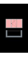 3-створчатое остекление лоджии или балкона