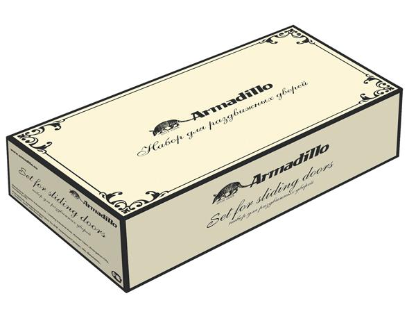 Ручка для раздвижных дверей SH010/CL AS-9 Античное серебро