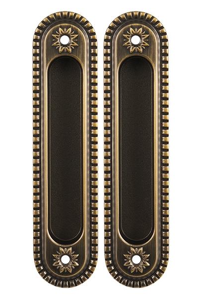 Ручка для раздвижных дверей SH010/CL BB-17 Коричневая бронза