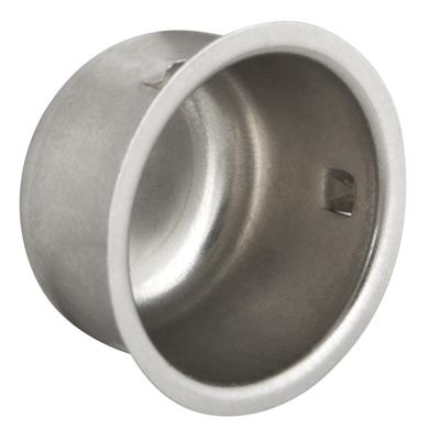 Заглушка  металлическая  диаметр 25 мм
