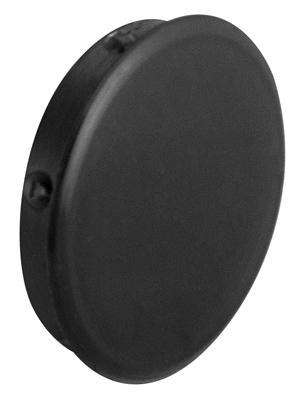 Заглушка отверстия пластик диаметр 25 мм черн