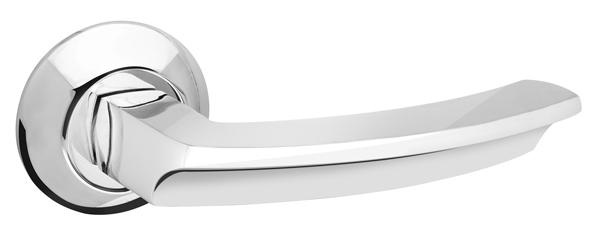 Ручка раздельная ALFA AR CP-8 хром, квадрат 8x130 мм, стяжки M4(10*50*50)