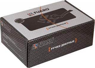 Ручка раздельная BOSTON AR SN/CP-3 матовый никель/хром, квадрат 8x130 мм, стяжки M4(10*50*50)