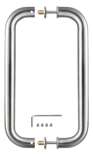 Ручка-скоба PH-21-25/300-INOX нержавейка