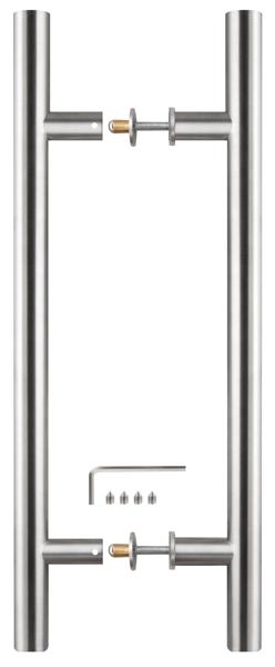 Ручка-скоба PH-22-25/300-INOX нержавейка
