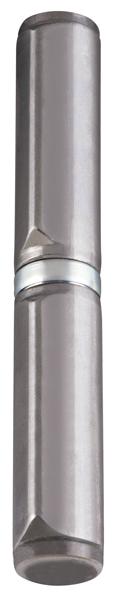 Петля приварная Т254/150х22x25 мм с подшипником