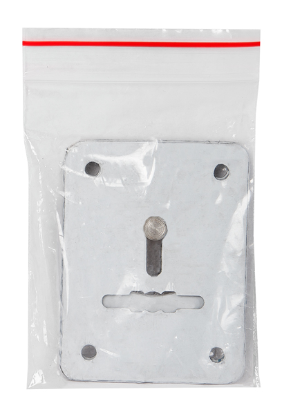 "Декоративная накладка ESC081-SS нержавейка на сув. замок 1 пара ""2"""
