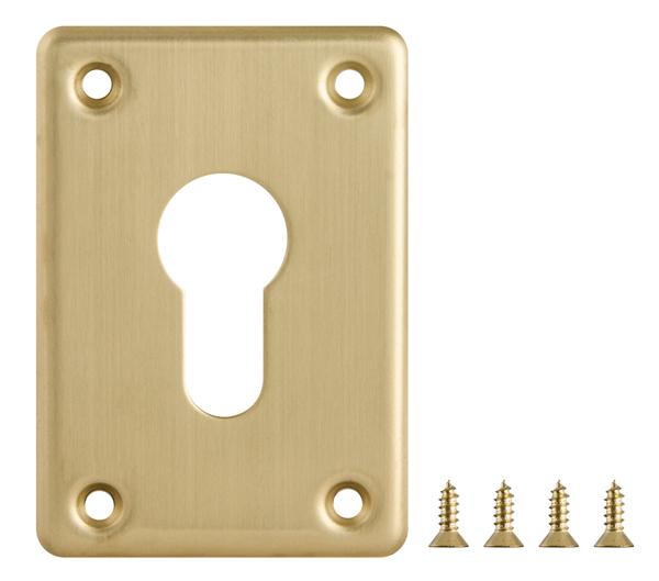 Секретная накладка на сувальдный замок 02.716.61.1.18 ХРОМ