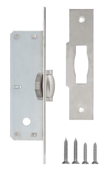 Защелка врезная ролик 155/B 35 mm никель